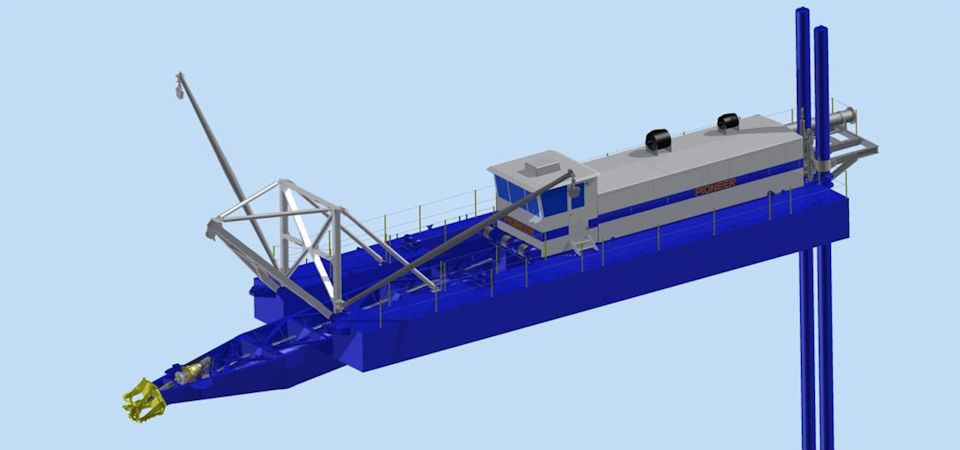 Dredging Machine Image